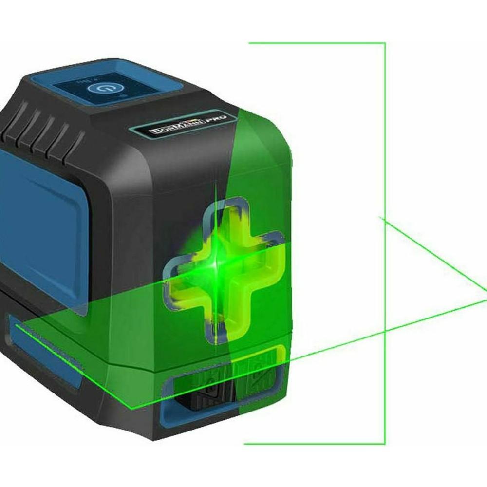 BORMANN BDM6800 Αλφάδι Laser Σταυρού Πράσινης Δέσμης Αυτορυθμιζόμενο 1