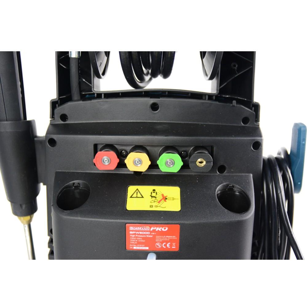 BORMANN BPW5000 Πλυστικό υψηλής πίεσης με ανέμη 3200W225BAR540L h 2