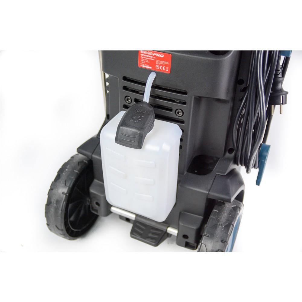 BORMANN BPW5000 Πλυστικό υψηλής πίεσης με ανέμη 3200W225BAR540L h 3